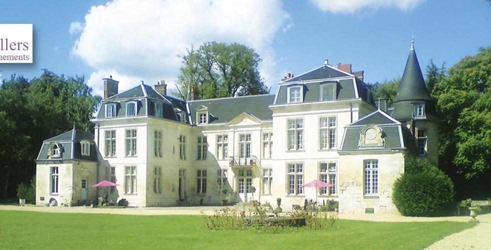 Château de mariage dans l'Oise